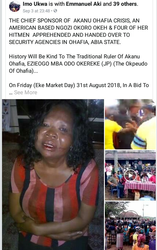 Photos/Video: US-based Nigerian woman and her
