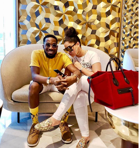 Dbanj shares new loved-up photo with his wife Lineo as they baecation in Dubai?