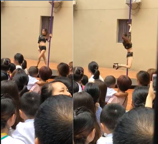 Update: Authorities fire principal of Kindergarten school who hired sexy pole-dancers to welcome over 400 children back to school