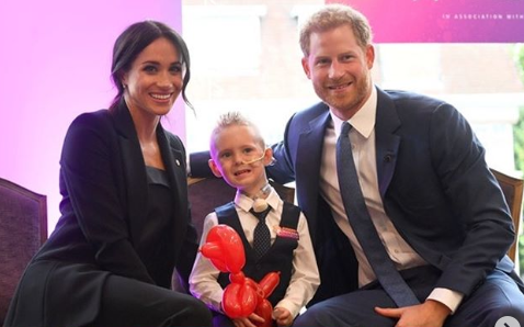 Meghan Markle and Prince Harry attended the annual WellChild Awards at The Royal Lancaster Hotel