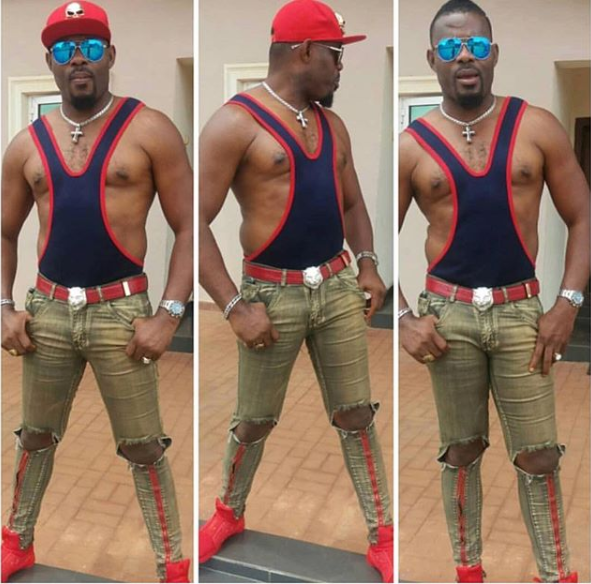 Emeka Enyiocha shows off his dad bod in new photos