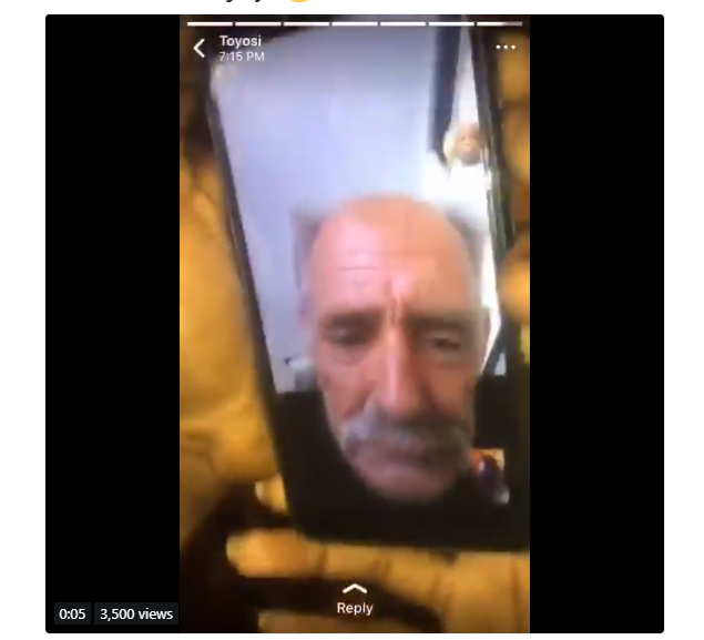 Nigerian fraudsters mock one of their victims on FaceTime after scamming him (Video)