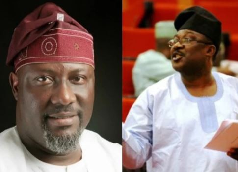 Senator Smart Adeyemi?s daughter drags the heck out of Dino Melaye over his condolence visit after the death of her mother