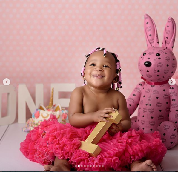 Rick Ross shares adorable new photos of his daughter Berkeley as she clocks 1 today.