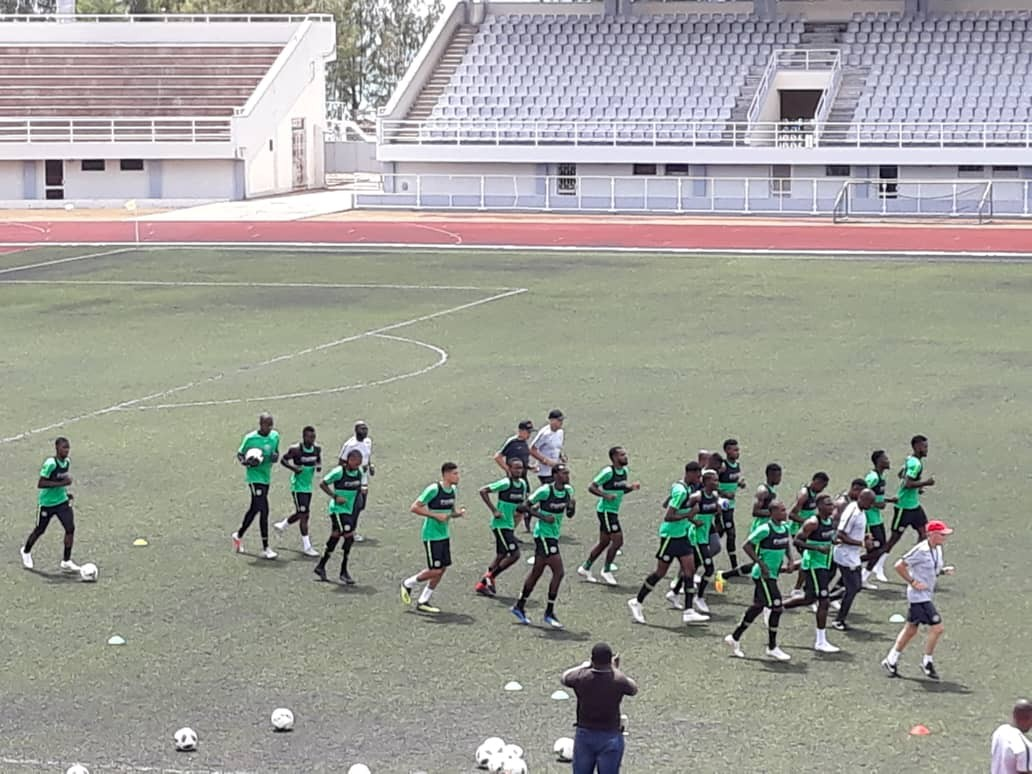 AFCON qualifier: Super Eagles begin training ahead Seychelles clash?(Photos)