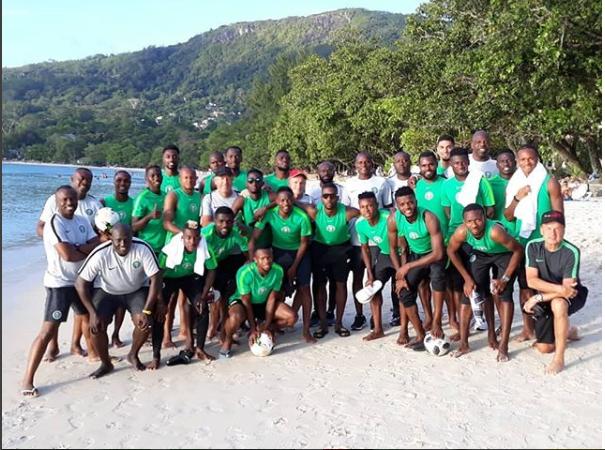 AFCON qualifier: Super Eagles begin training ahead Seychelles clash?(Photos)