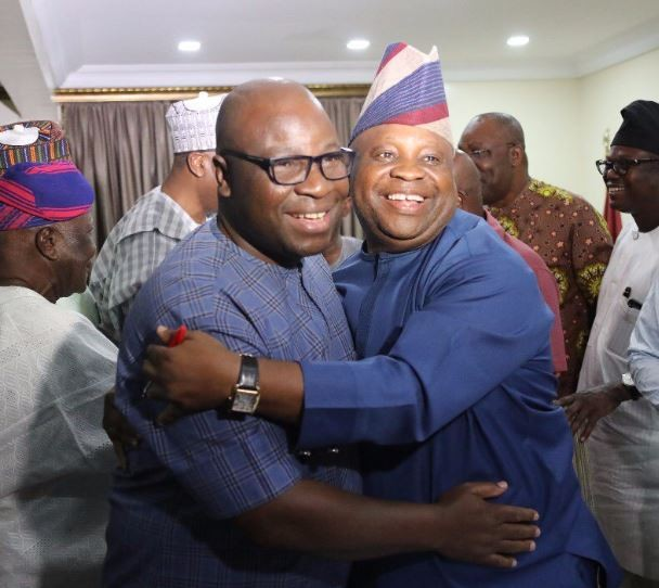 Saraki ends the beef between?Senator Adeleke and his rival, Dr?Ogunbiyi ahead of September 22 Osun State guber elections