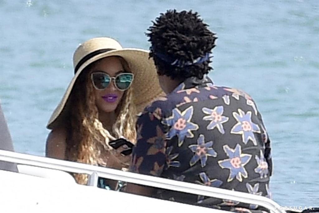 Beyonc? and Jay-Z celebrate her 37th birthday in Sardinia (Photos)