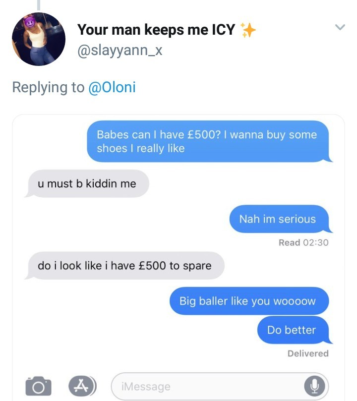 Women share the replies they got after they asked their partners for ?500 to buy shoes and they are hilarious