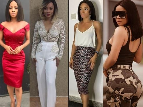 919a661178e4 Incredible photos of Toke Makinwa s amazing body transformation in ...