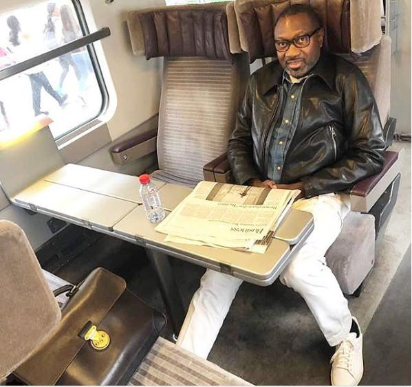 Nigerian billionare, Femi Otedola kicks off his annual three months vacation, heads to Paris (Photo)