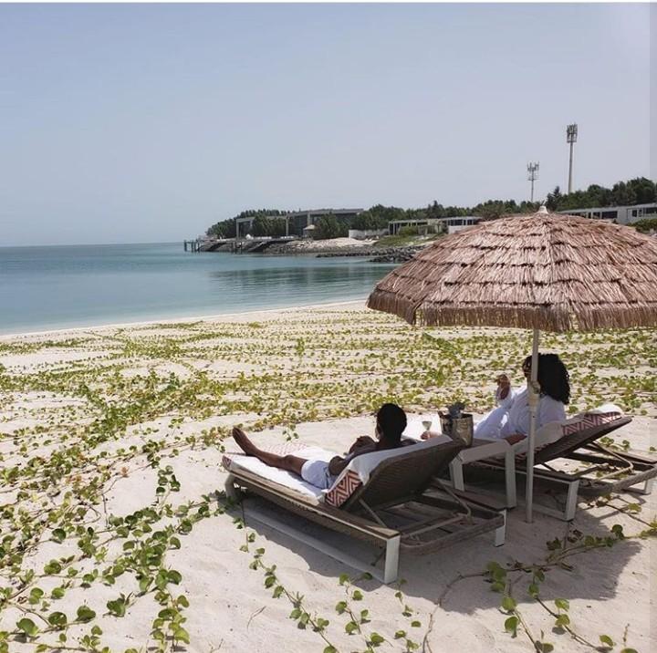 Amazing photos from the Idibias' and Oyebanjos' vacation