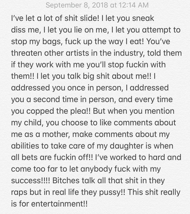 Cardi B explains why she attacked Nicki Minaj