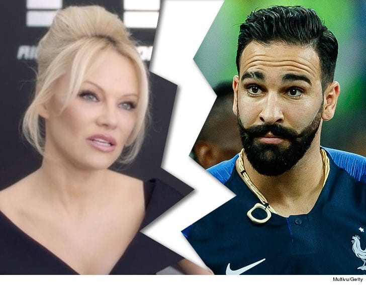 Actress Pamela Anderson breaks up with France World Cup Champion Adil Rami after he proposed