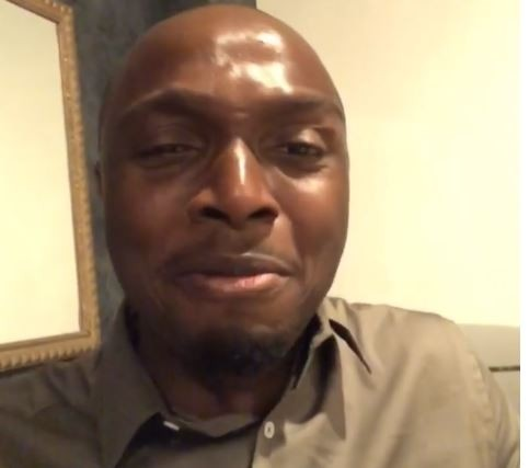 IK Osakioduwa close to tears after Basketmouth surprised him with a new laptop