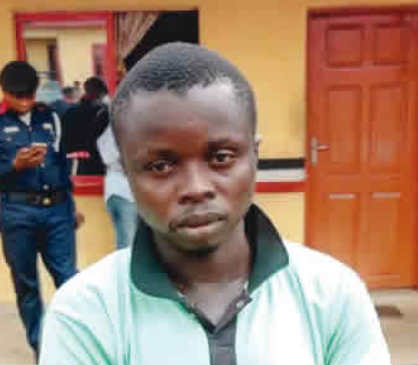 Photo: Bricklayer arrested for allegedly raping his 13-year-old neighbour?s daughter