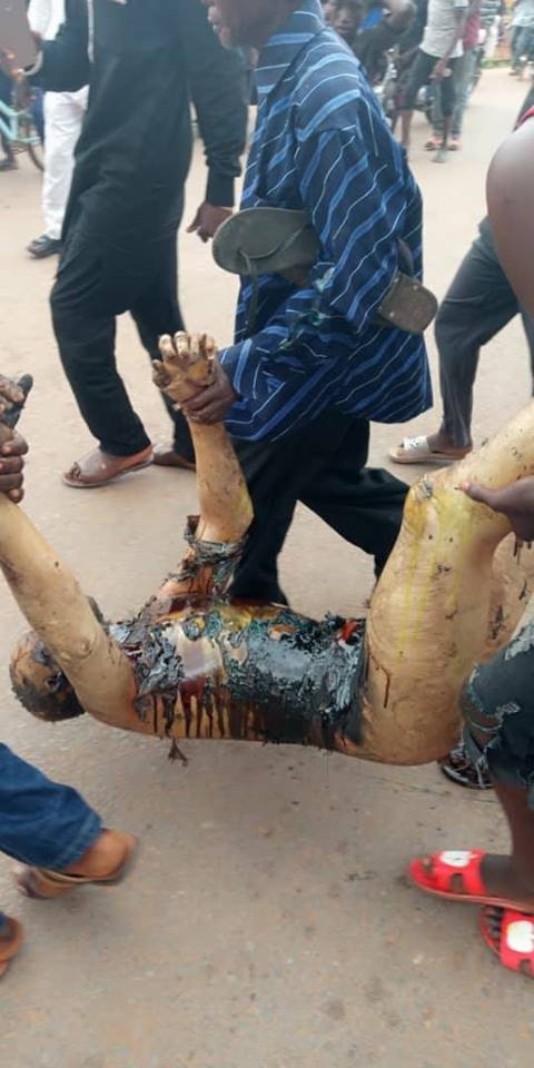 Graphic photos from the Nasarawa gas station explosion