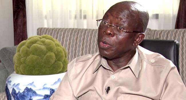 Adams Oshiomole insists Saraki must vacate his seat as senate president