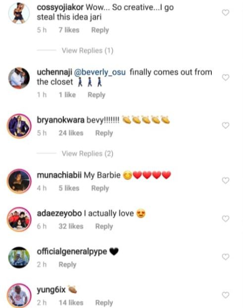 Annie Idibia, Paul Okoye, Yungsix, others support Beverly Osu over her controversial