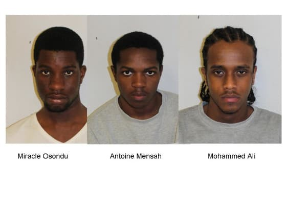 Photos: Nigerian man, two others jailed for 19 knife and acid attack robberies in London