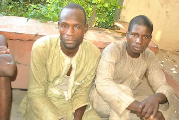 Photos: Police arrests suspects threatening to kidnap businessmen in Niger State