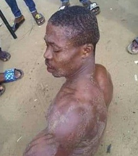 Married man mercilessly flogged for raping 9-year-old girl in Bayelsa