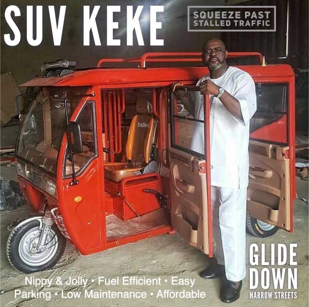 Lol. Check out this SUV Keke