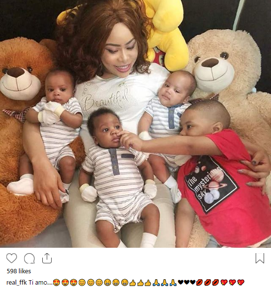 Femi Fani-Kayode shares photos of his boys, thanks his wife in touching post