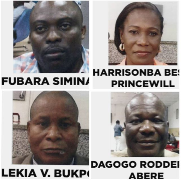 Photos: EFCC declares four Rivers state government officials wanted over alleged N117 billion money laundering
