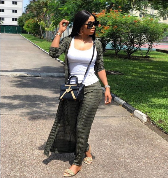 ? Media girl, Toke Makinwa glows in new photos