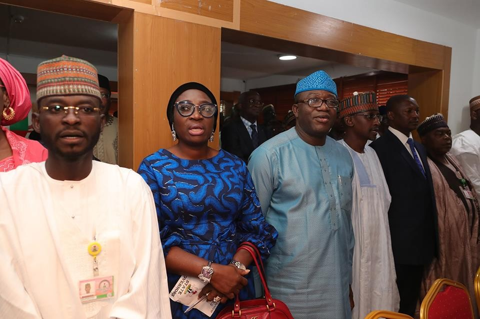 Photos: Buhari submits his APC presidential nomination form