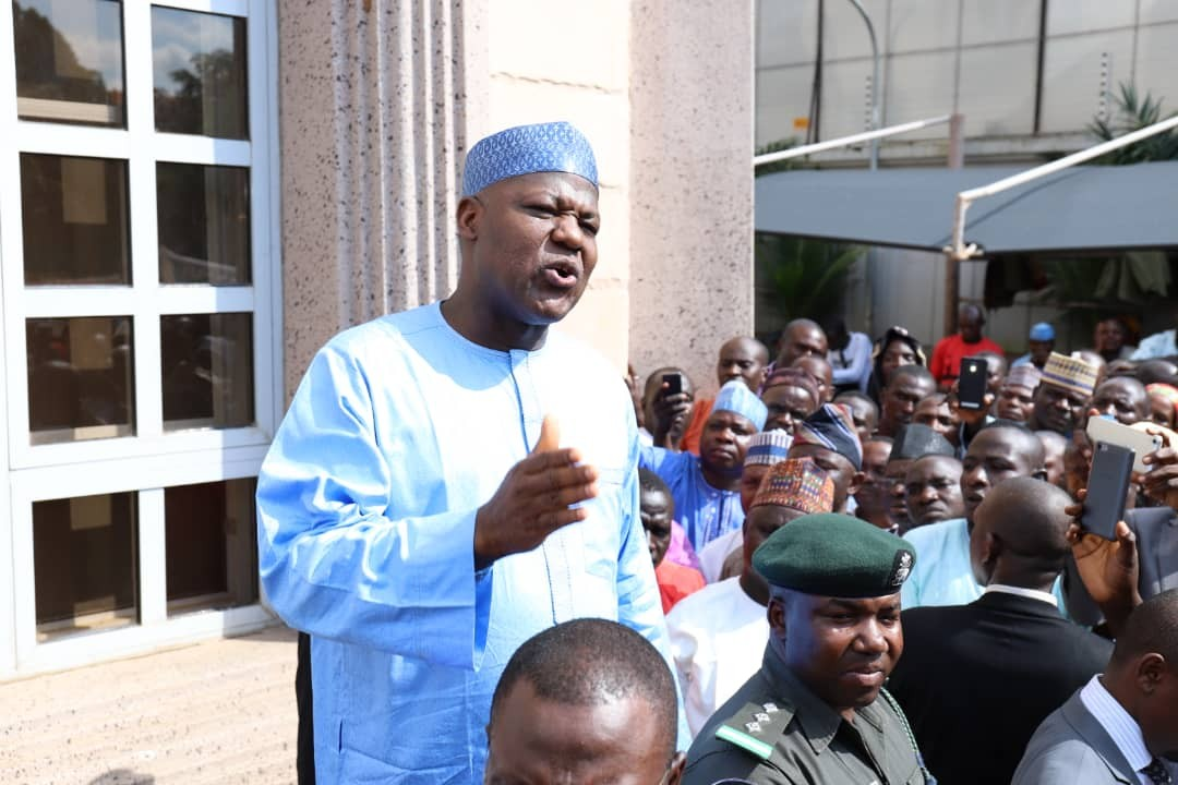 2019: Dogara defects. picks PDP forms as he seeks return to House of Representatives