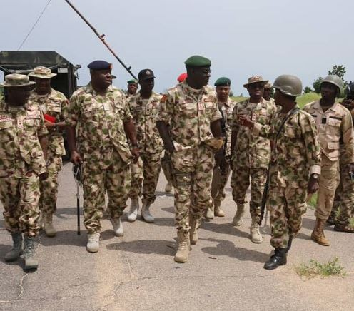 Nigerian soldiers in fresh battle Boko Haram in Damasak, Borno State