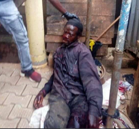 Man found dead in pool of his blood after knife attack in Kaduna (graphic photos)
