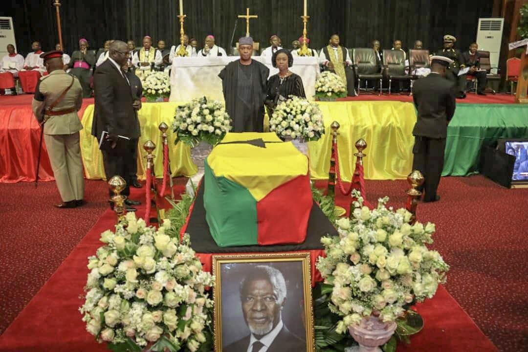 Photos from the Funeral of Kofi Annan