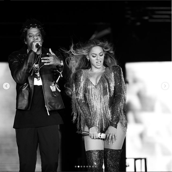 Beyonce shares stunning photos with Jay-Z as they kick off their last ten shows of their #OnTheRunTour2