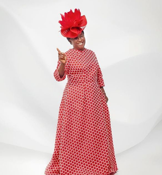 Veteran actress Patience Ozokwo shares new photos as she turns a year older today