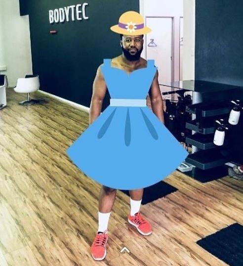 South African rapper, Cassper Nyovest shows of his summer body but his