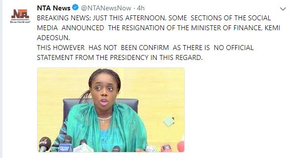 Uncertainty over Kemi Adeosun