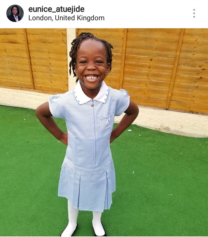 Female presidential aspirant compares Nigerian schools to 'oyibo' schools after she enrolled her daughter in a UK school