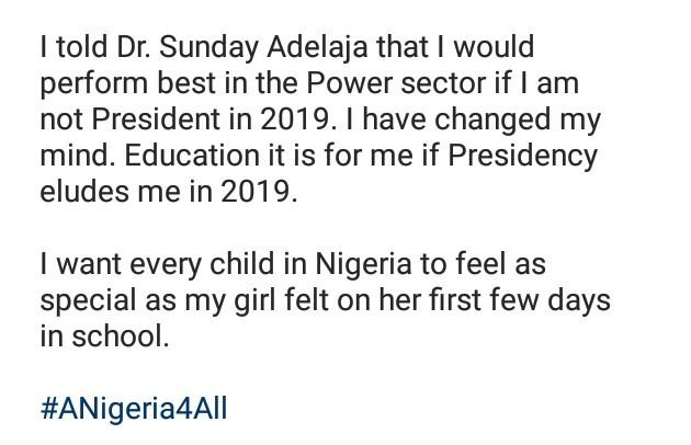 Female presidential aspirant compares Nigerian schools to