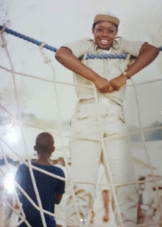 Zone 2 PPRO Dolapo Badmus shares throwback photos of her time as a Youth Corps member
