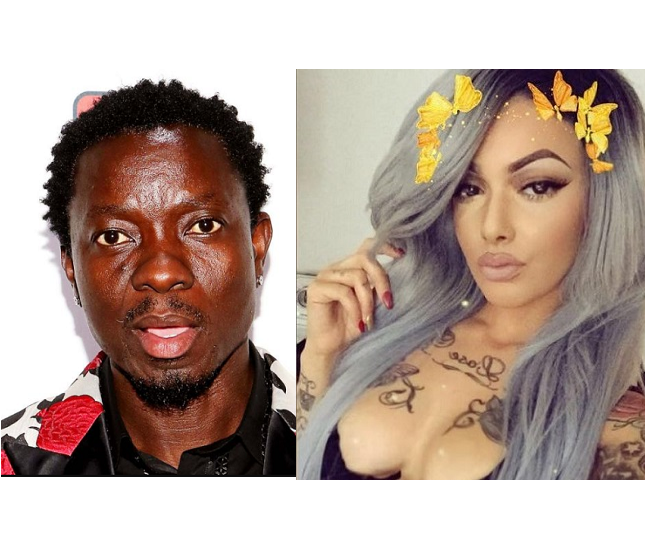 Comedian Michael Blackson exposes popular Instagram model Celina Powell for trying to get down with him