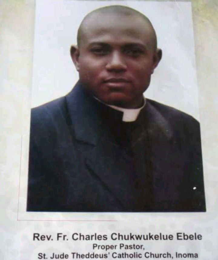 Priest drowns in the River Niger after giving out his life jacket to save a friend