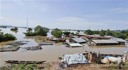 Photos: Residents left homeless as flood ravages 200 communities in Kogi