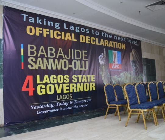Full text of speech delivered by Jide Sanwo-Olu as he declared to run for governor of Lagos State
