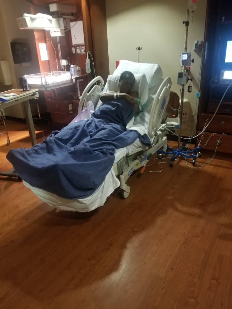 I have welcomed my son...Baby J is here! Yay! Linda Ikeji (Photos)