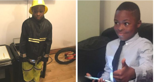 Family pay tribute to 7-year-old boy who was killed in the Arson attack in London