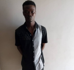 Photo: Unrepentant robbery kingpin on Lagos police wanted list arrested