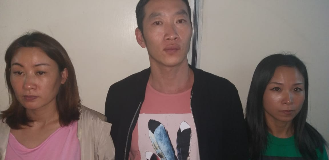 Photos: 12 Chinese nationals arrested for allegedly engaging in prostitution in Kenya